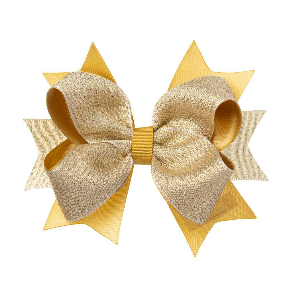 Laço Boutique Glitter Dourado
