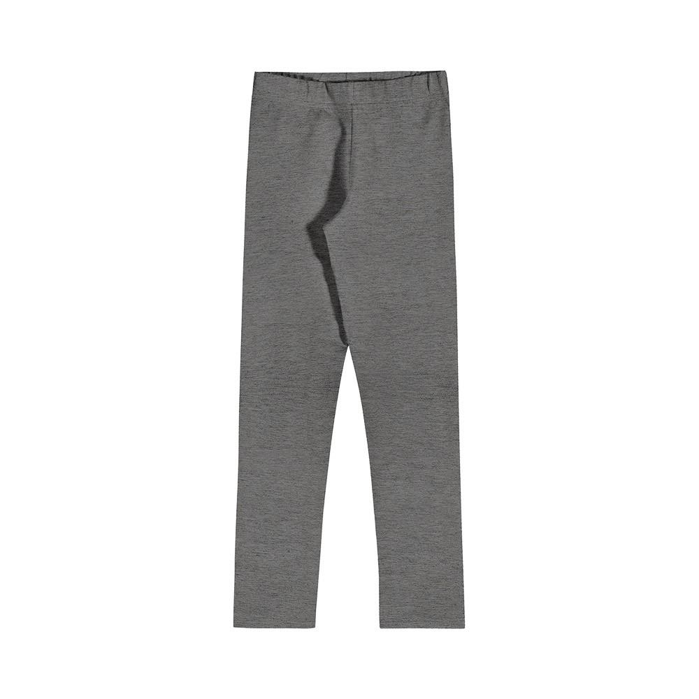 Legging em Cotton Cinza Grafite