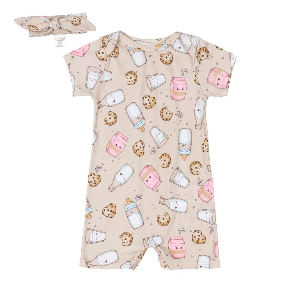 Macacão Cookies com Faixinha Up Baby