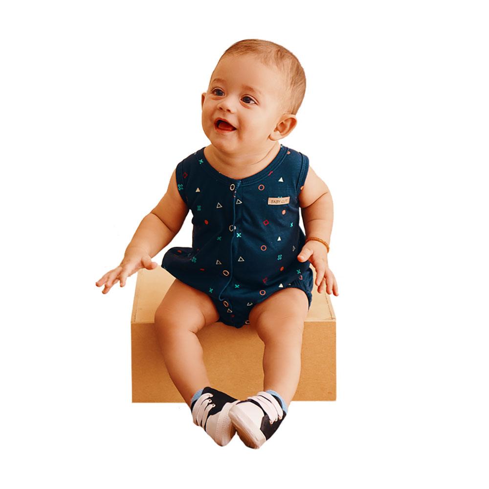 Macacão Cores e Formas Baby Gut