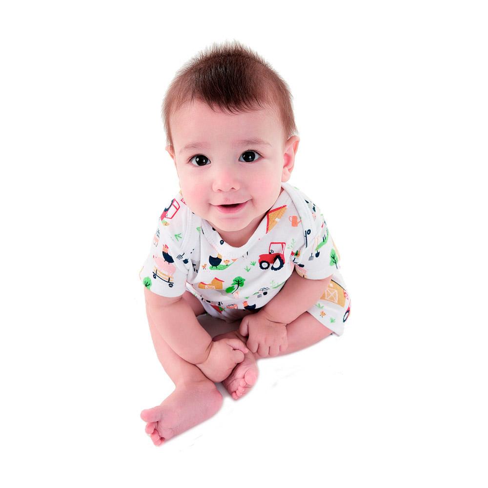 Macacão Fazendinha Up Baby