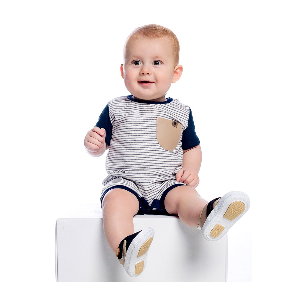 Macacão Listras Baby Gut