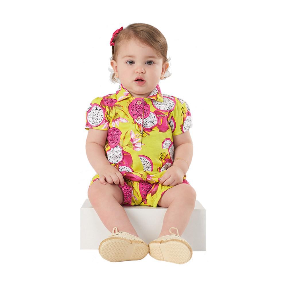 Macaquinho Pitaya Amarelo Up Baby