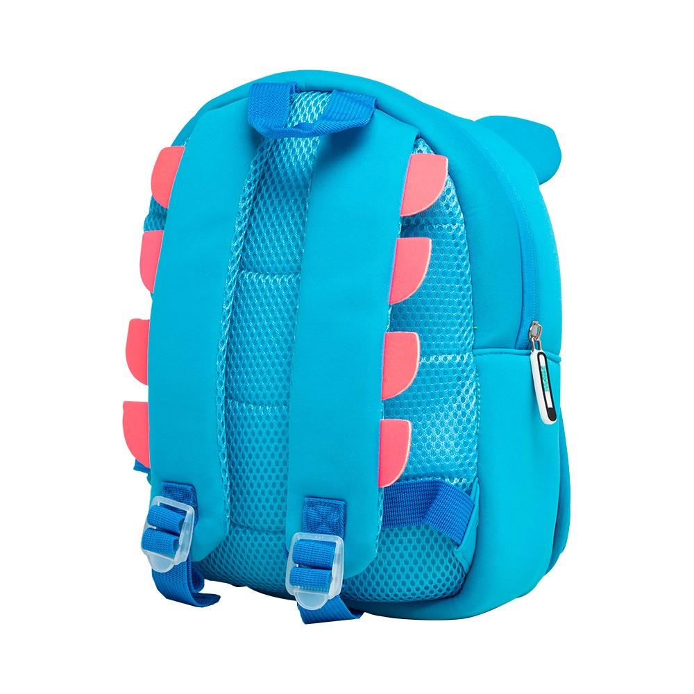 Mochila Unicórnio Azul Neoprene com proteção térmica