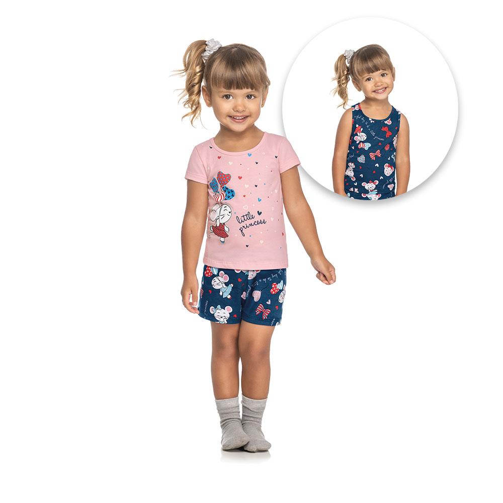 Pijama 3 Peças Little Princess