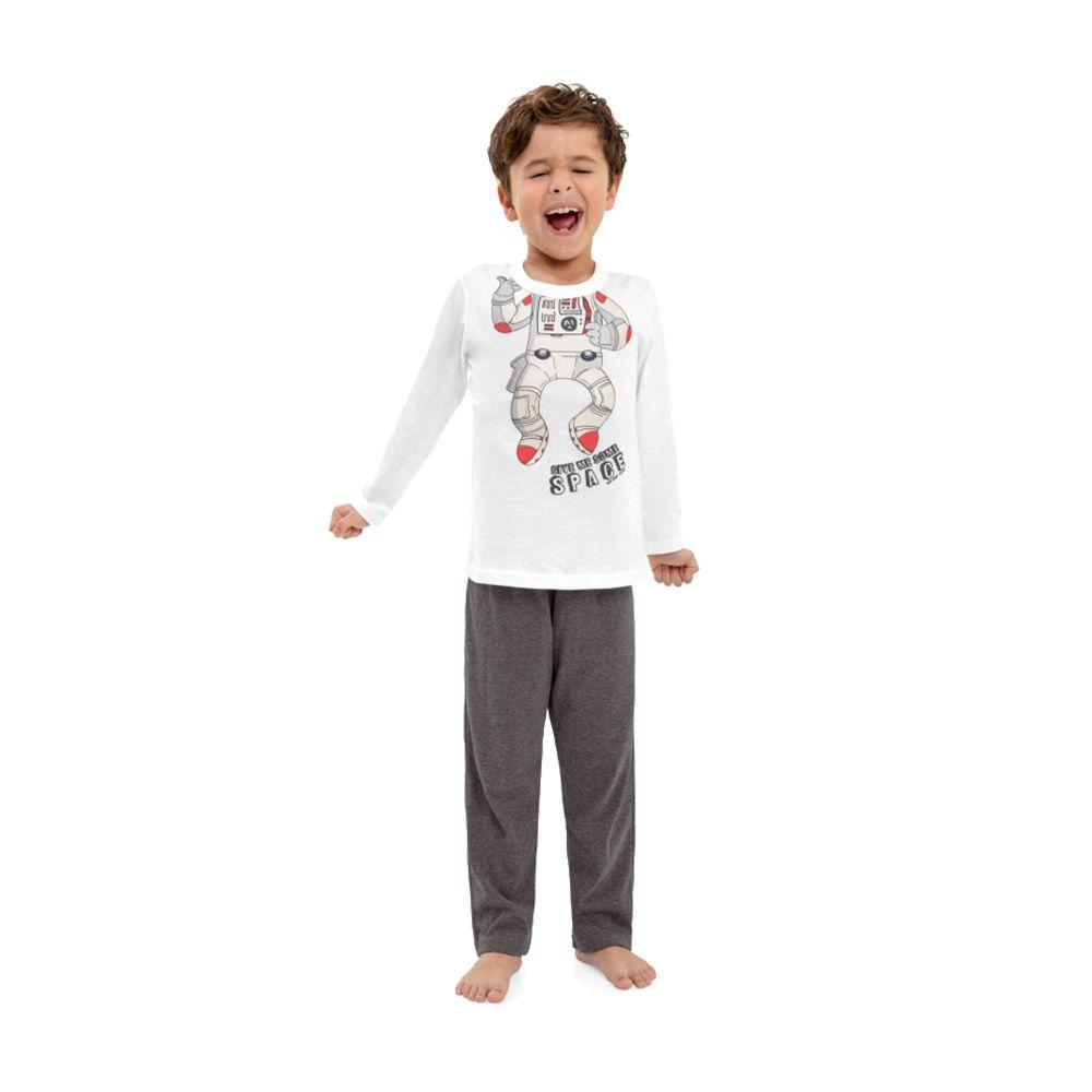 Pijama Astronauta Quimby Branco