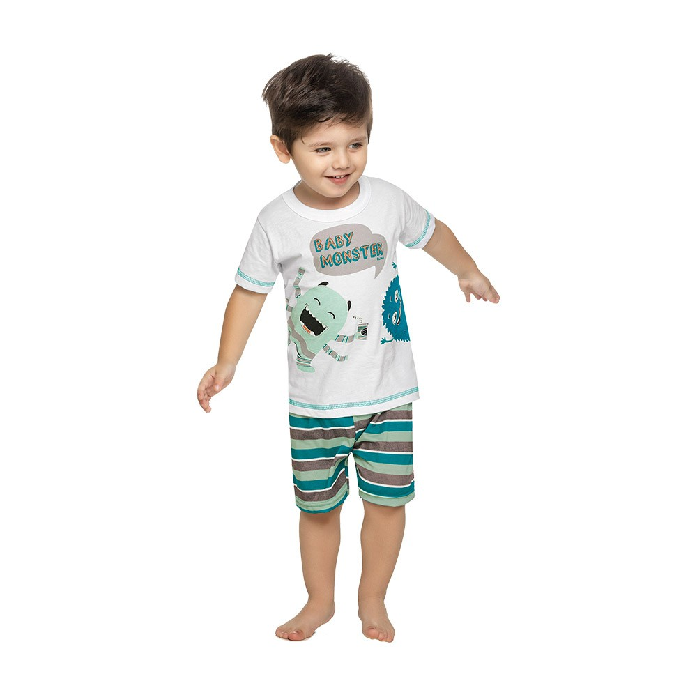 Pijama Baby Monster Brilha no Escuro