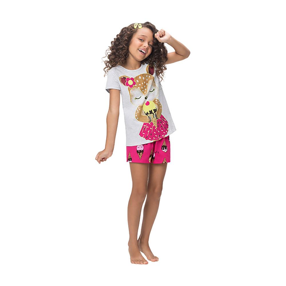 Pijama Bambi Brilha no escuro Kyly