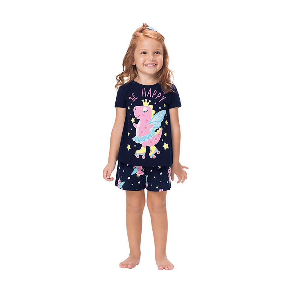 Pijama Be Happy Kyly Brilha no Escuro