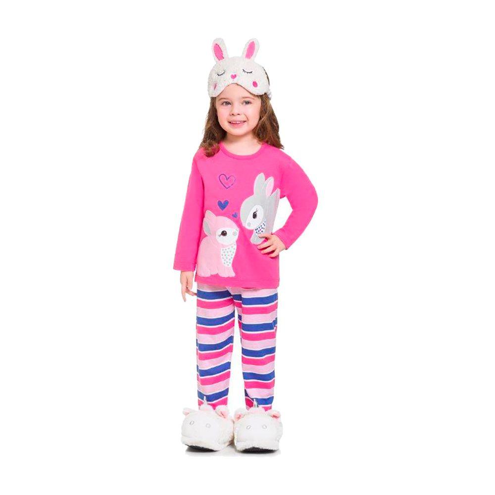 Pijama Coelhinha Rosa