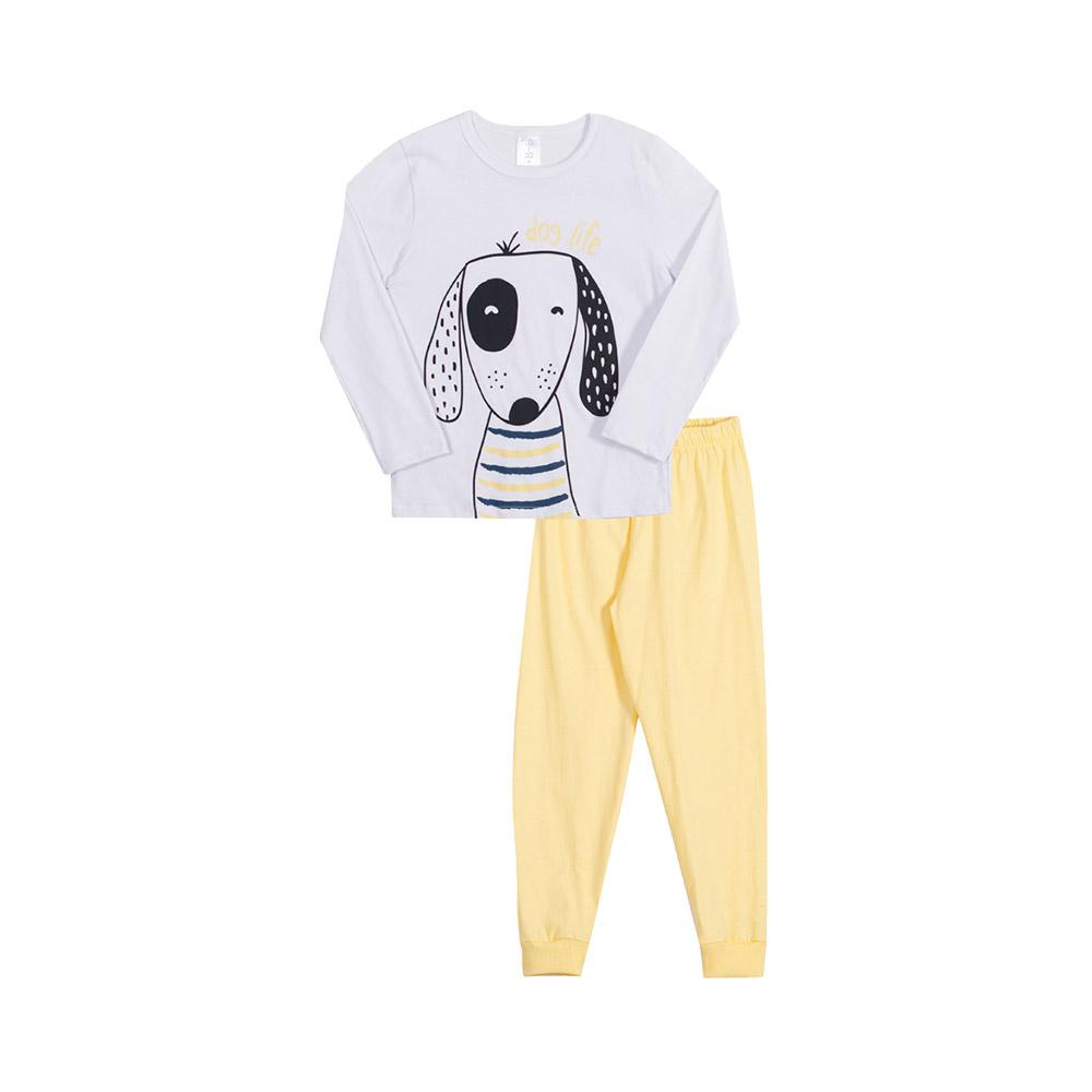 Pijama Dog Branco