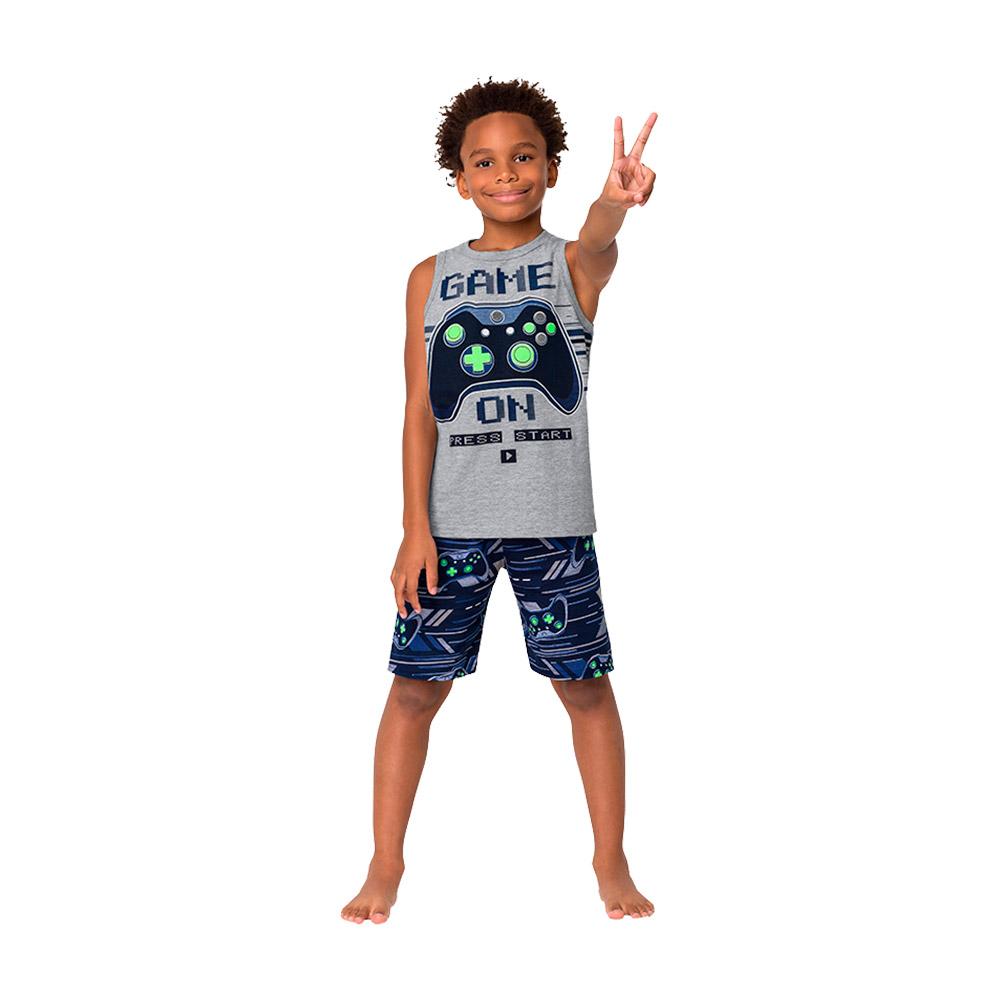 Pijama Game On Kyly - Brilha no escuro