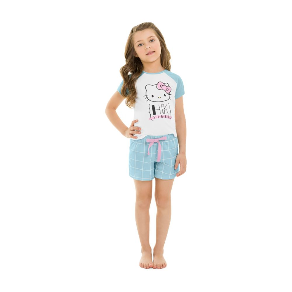 Pijama Hello Kitty Azul
