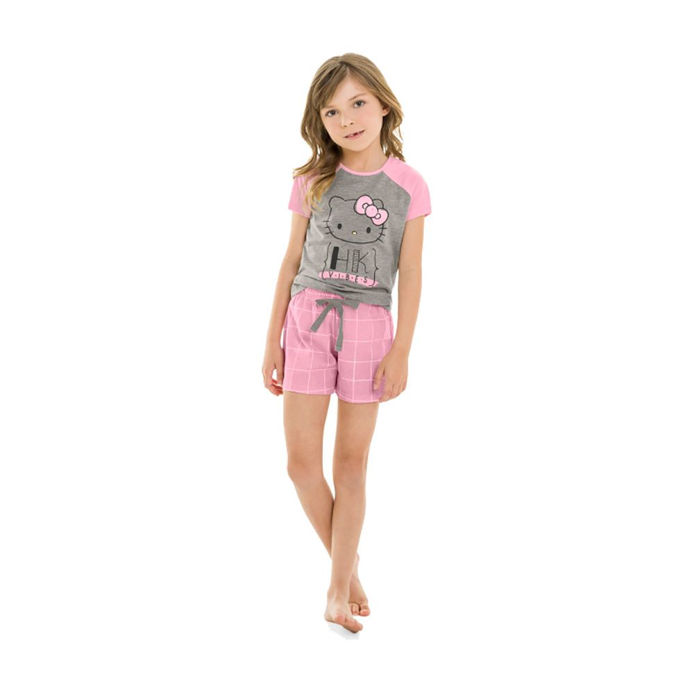 Pijama Hello Kitty Rosa