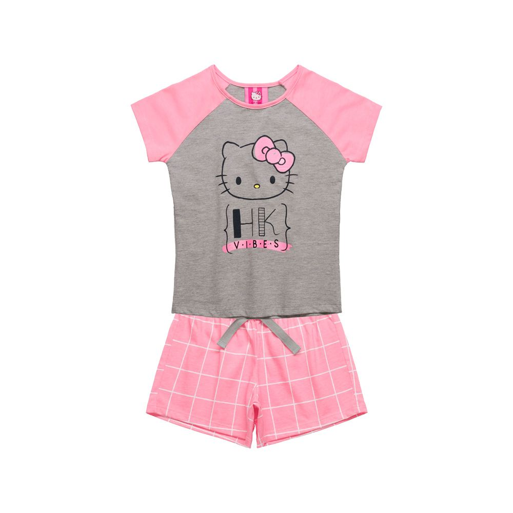 Pijama Hello Kitty Rosa