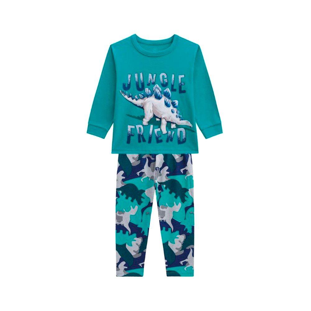 Pijama Jungle Verde