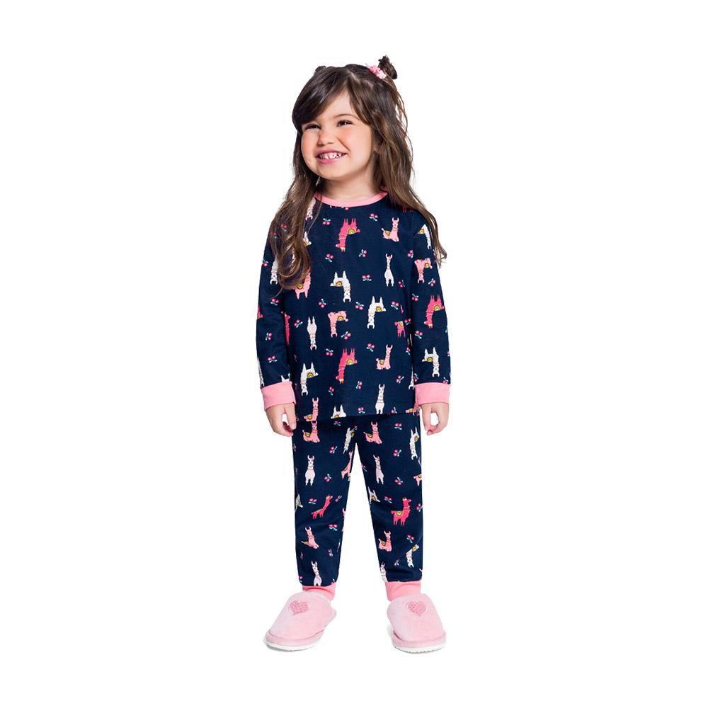 Pijama Lhama em Tecido 100% Algodão