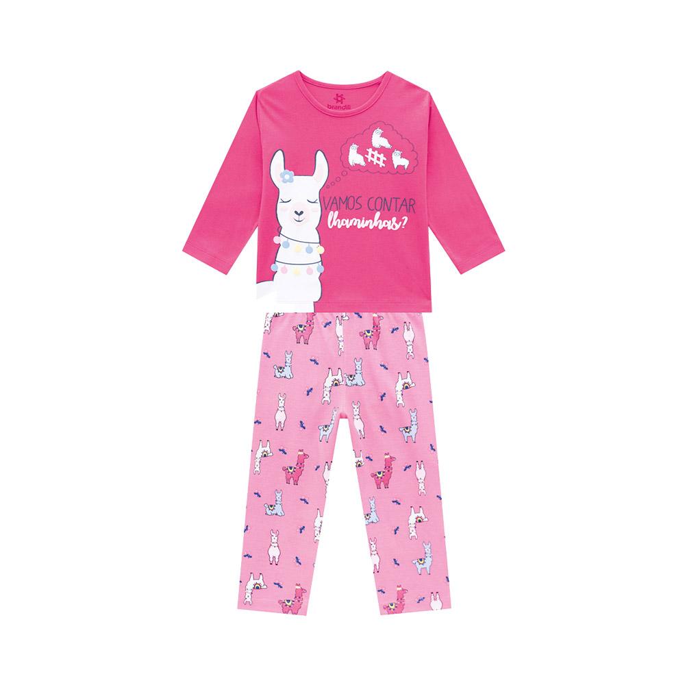 Pijama Lhama Rosa