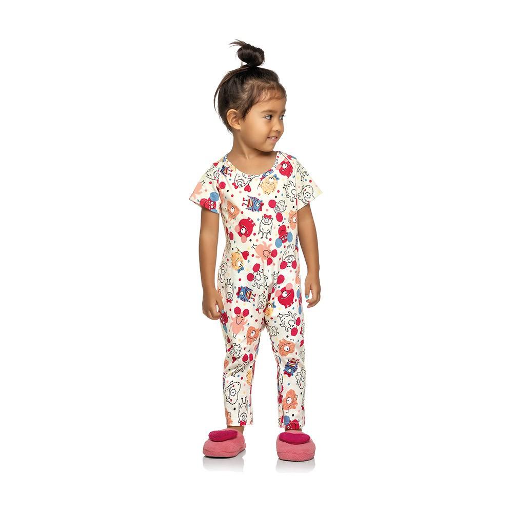Pijama Macacão Monstrinho