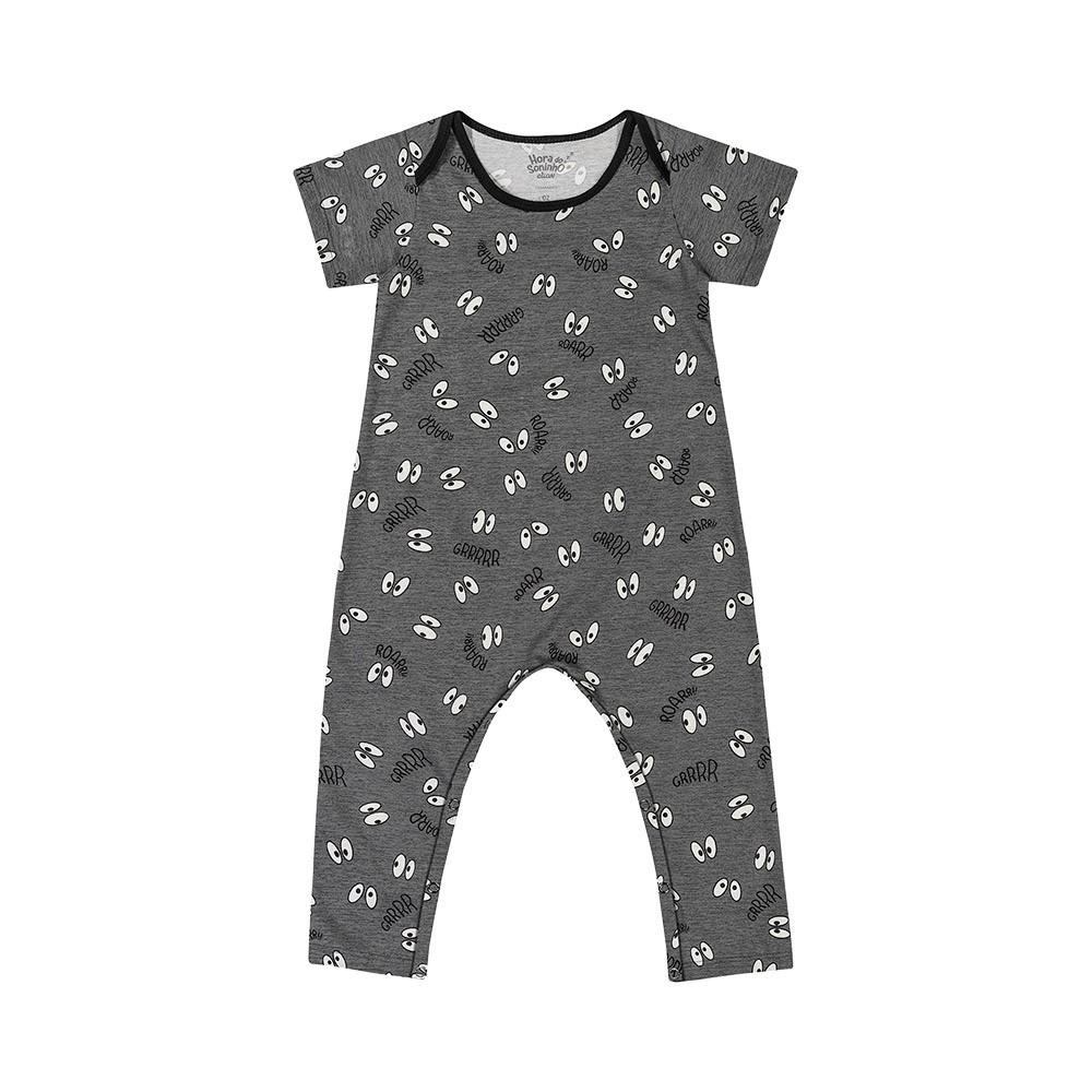 Pijama Macacão Olhinhos - Brilha no escuro