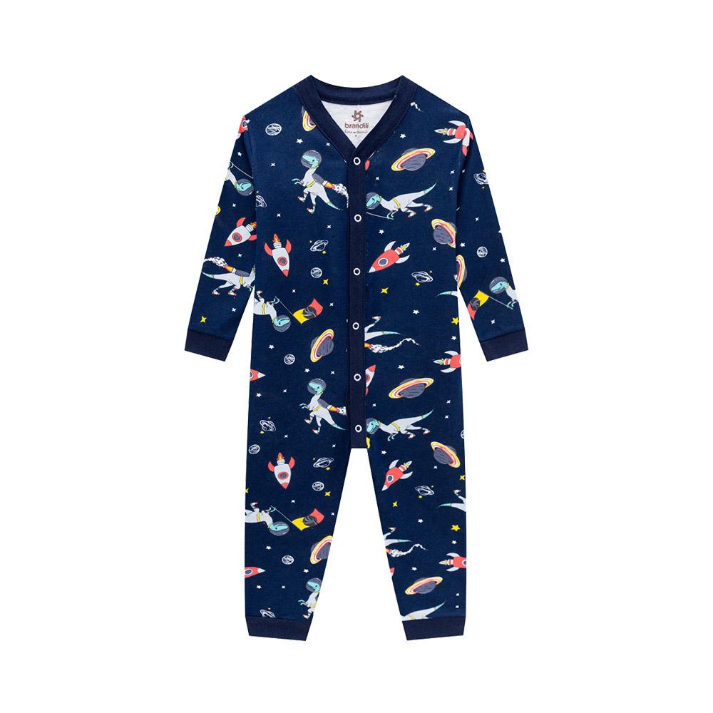 Pijama Macacão Space Marinho
