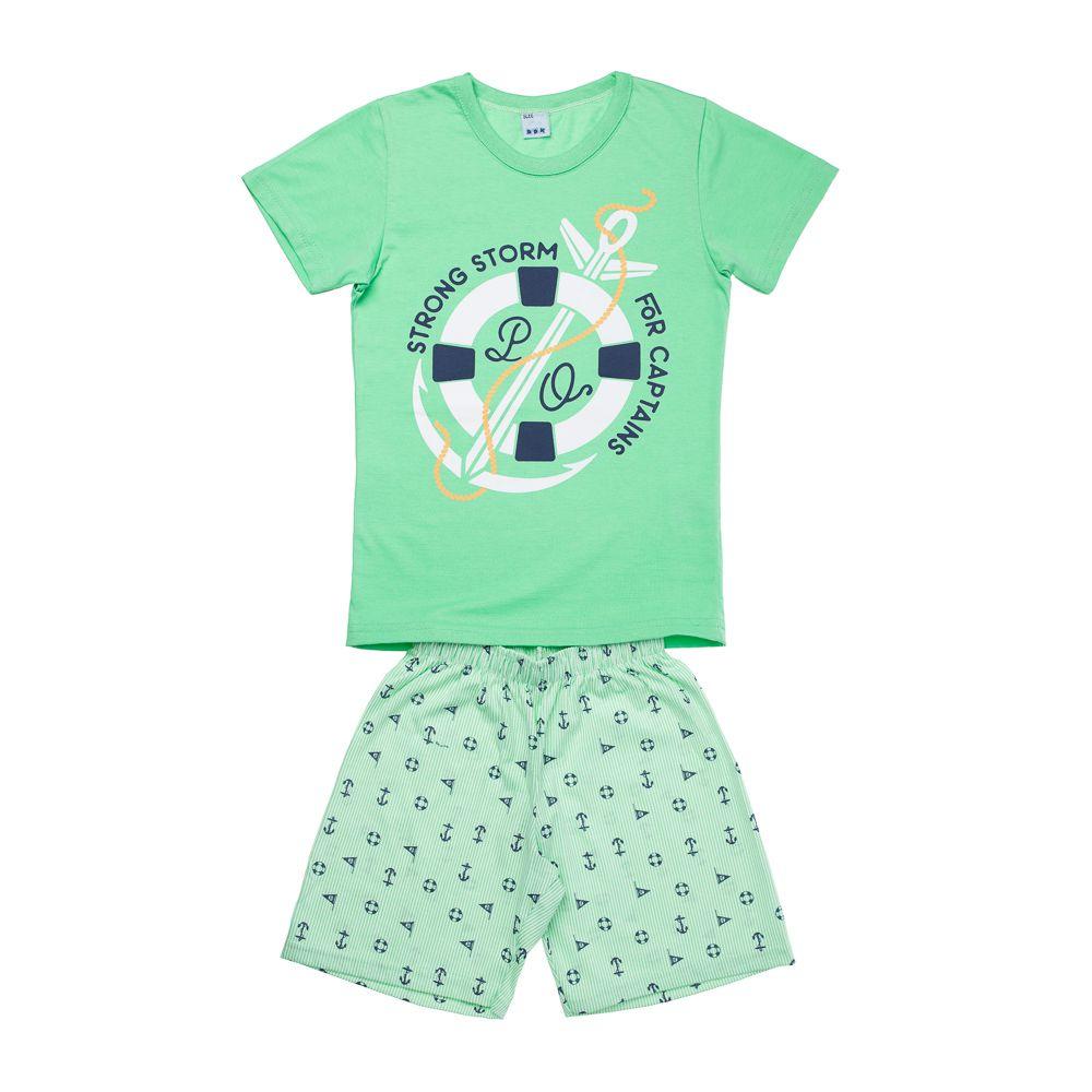Pijama Náutico Verde