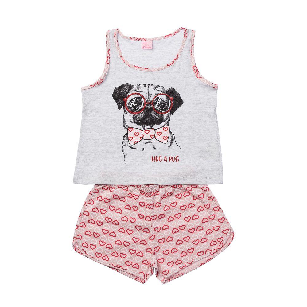 Pijama Pug Mescla