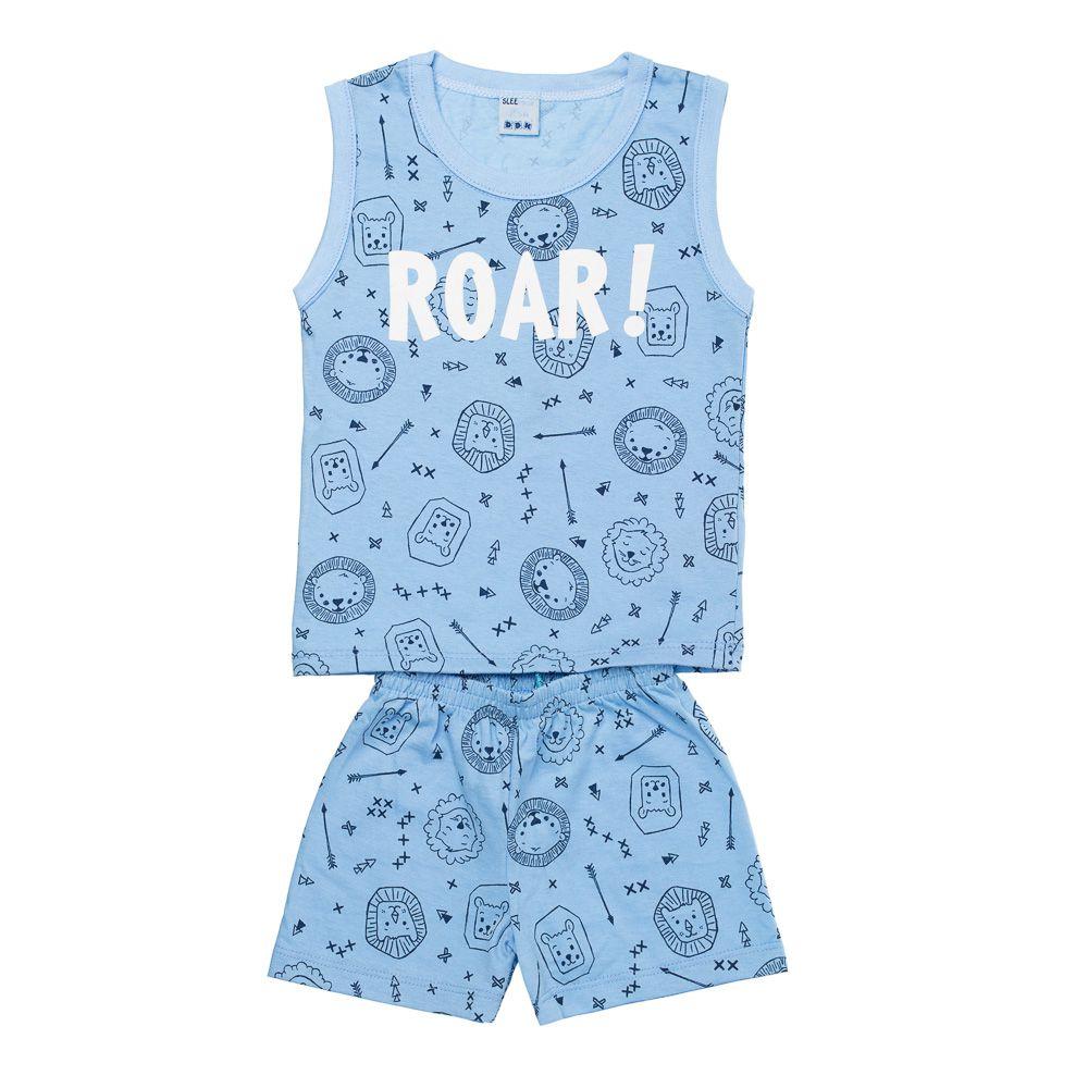 Pijama ROAR Azul