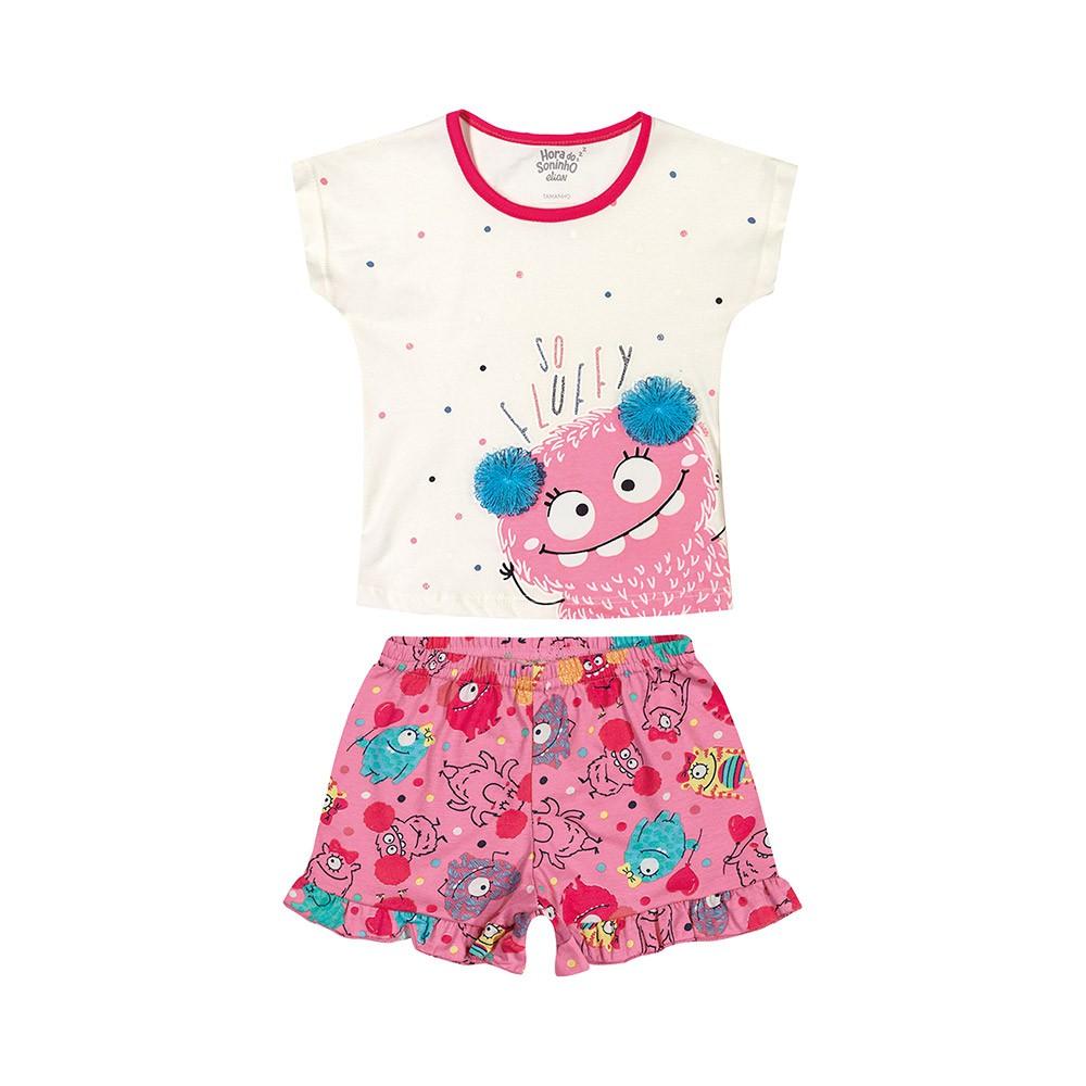 Pijama So Fluffy - Brilha no escuro