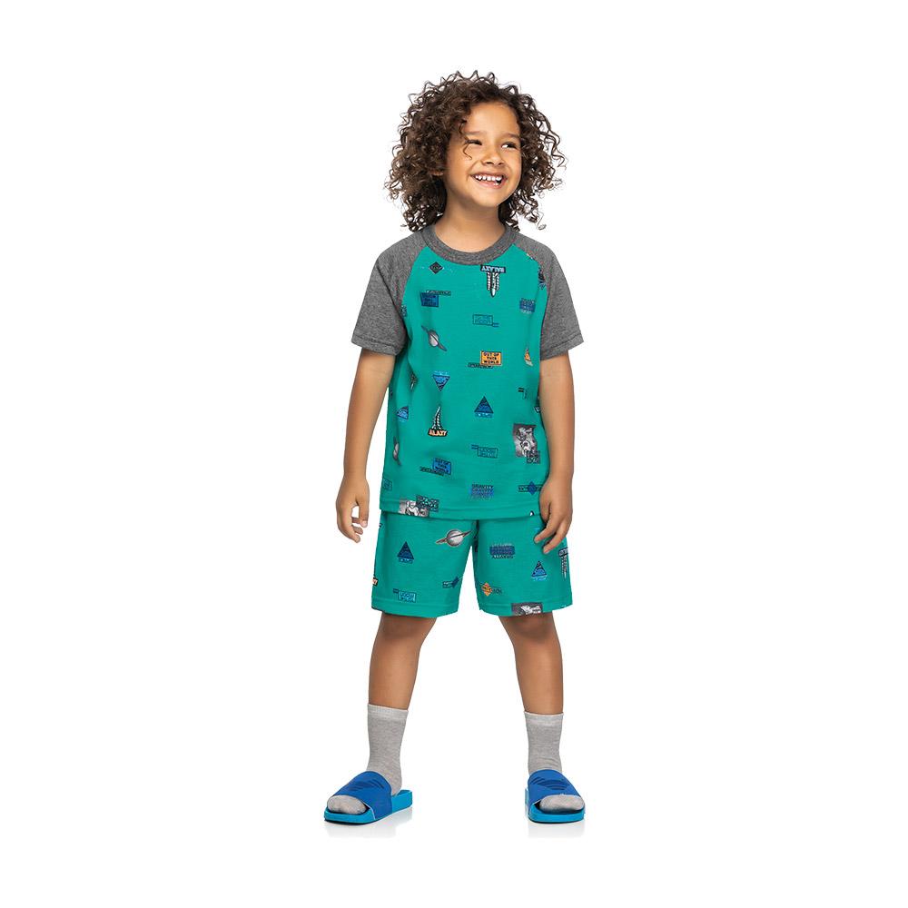 Pijama  Space Expedition Verde
