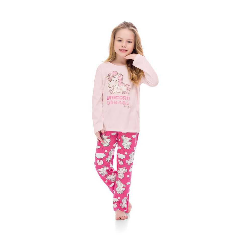 Pijama Unicorns Dreams Rosa