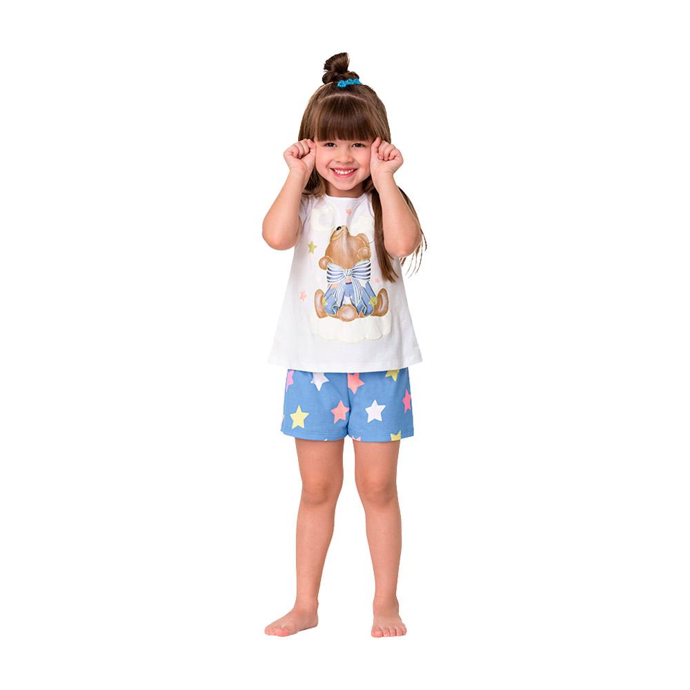 Pijama Ursinha Kyly - Brilha no escuro