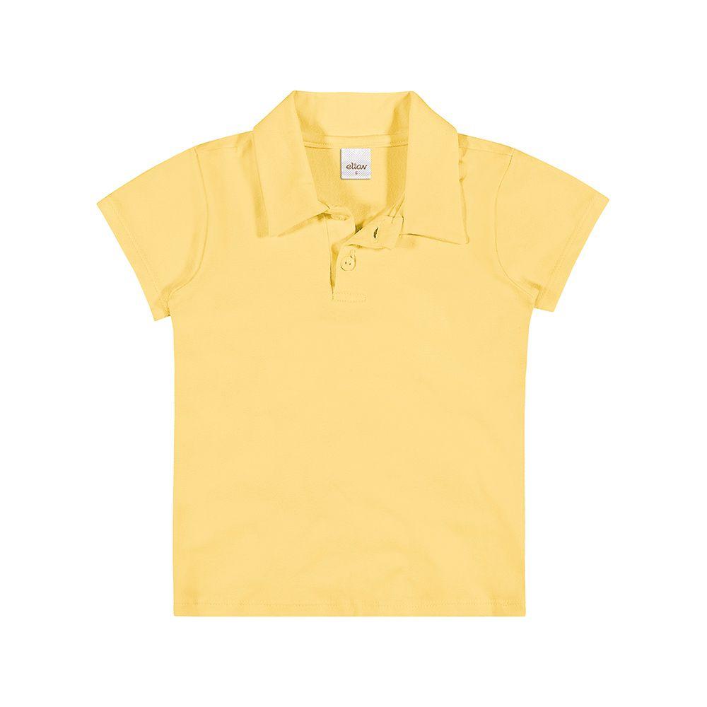 Pólo Cotton Confort Amarela