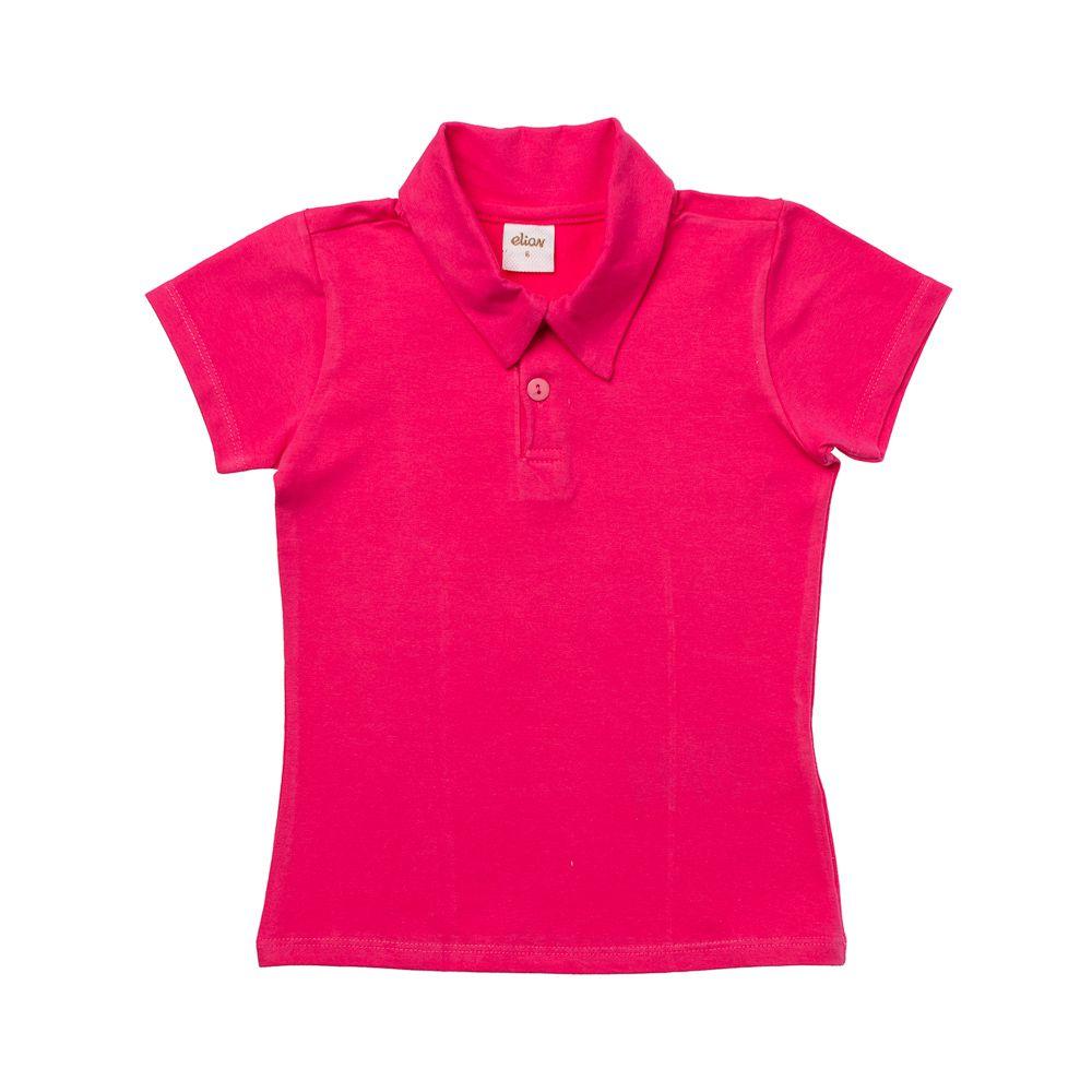 Pólo Cotton Confort Pink
