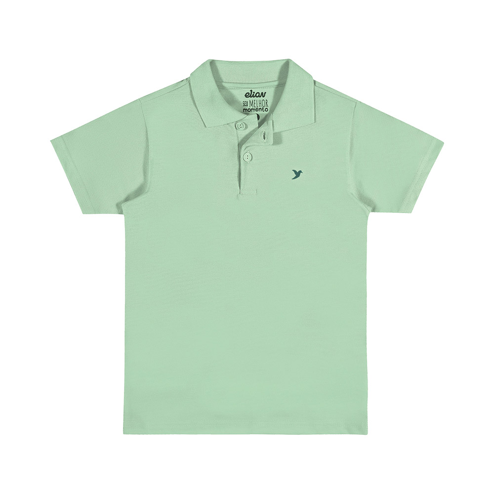 Pólo Masculina Verde
