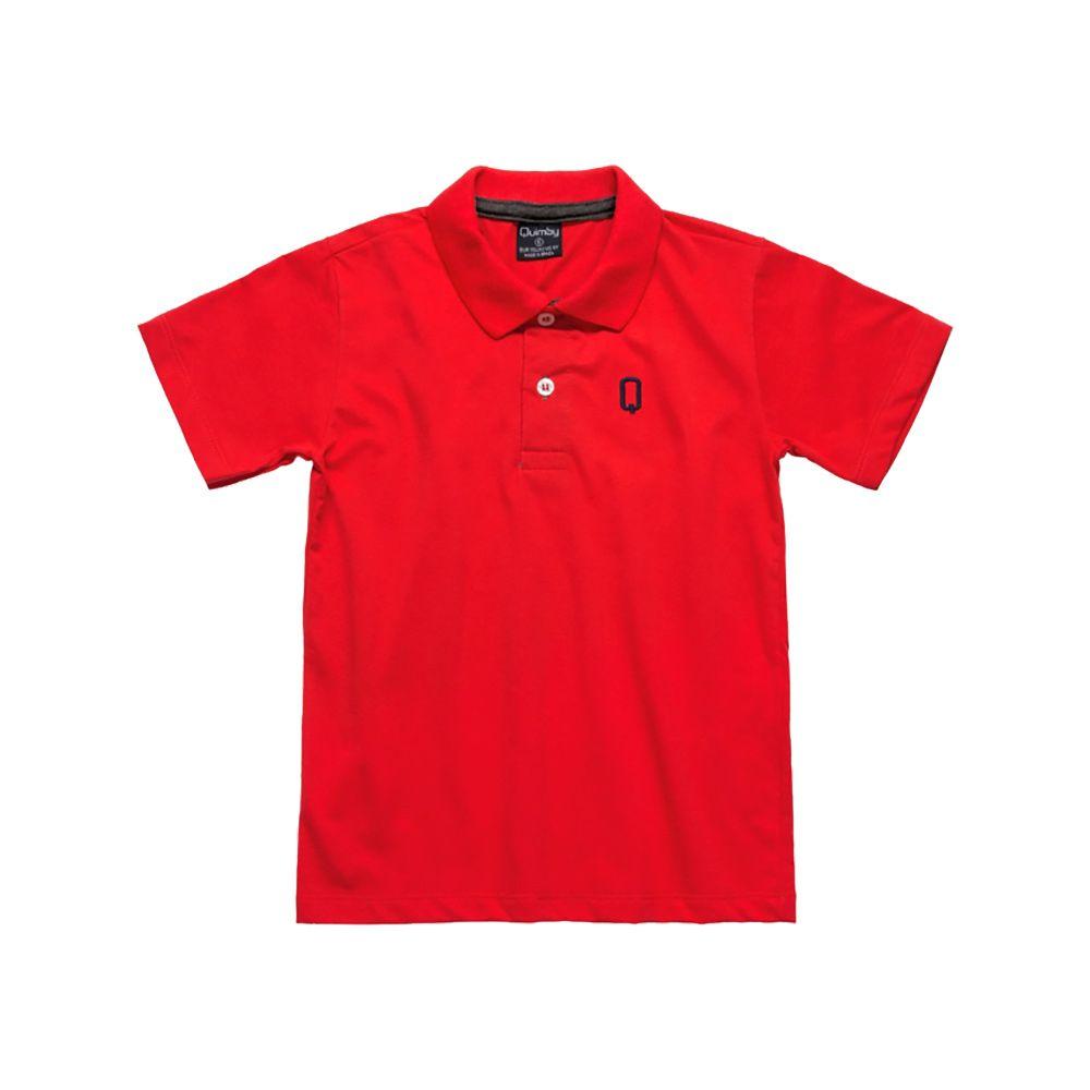 Pólo Vermelha Quimby