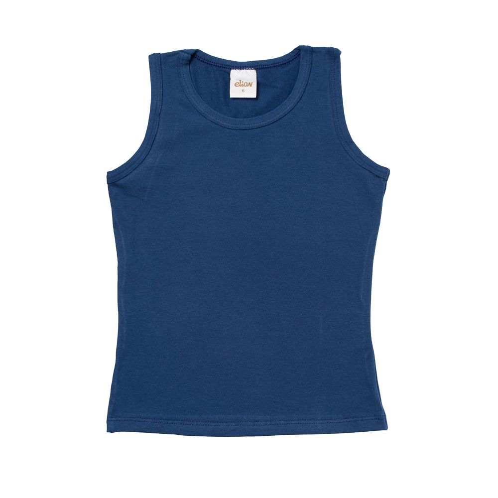 Regata Cotton Confort Azul Marinho