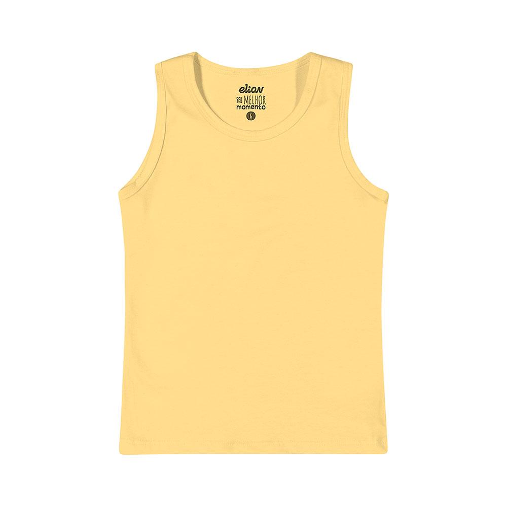 Regata em Cotton Amarela