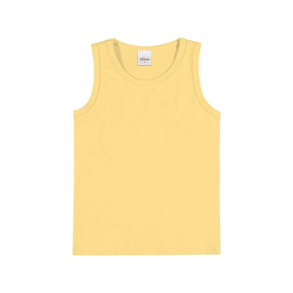 Regata em Cotton Confort Amarela