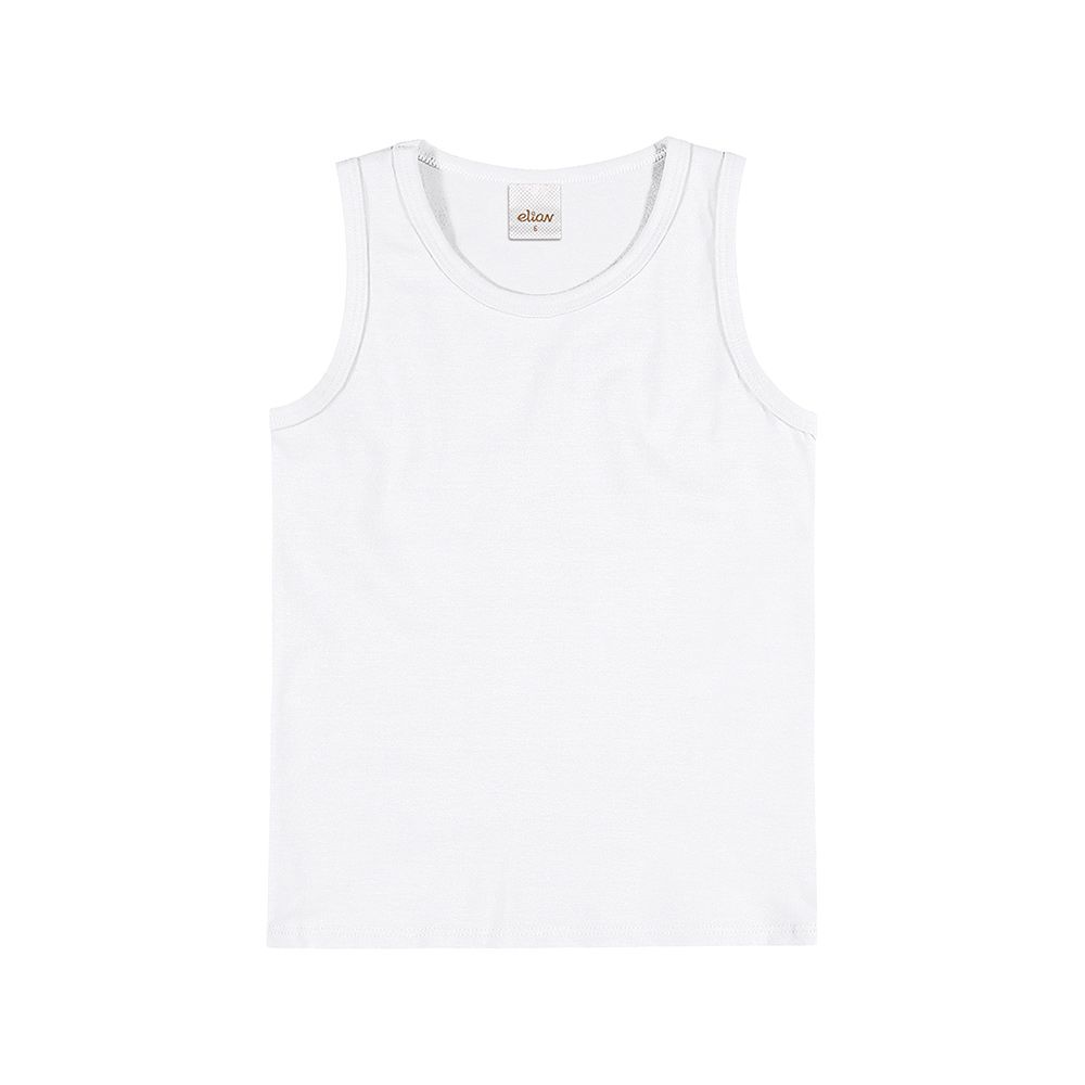 Regata em Cotton Confort na cor Branca