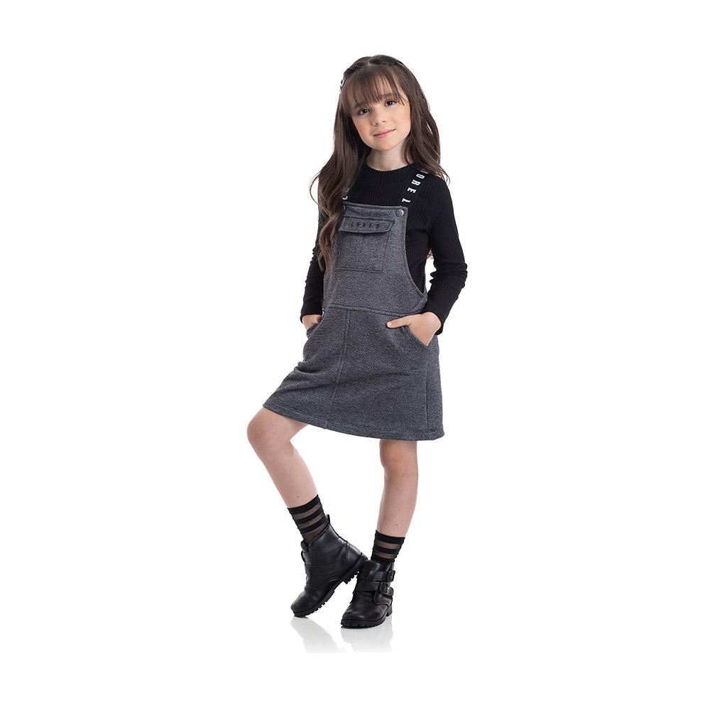Salopete Girl TMX com Blusinha