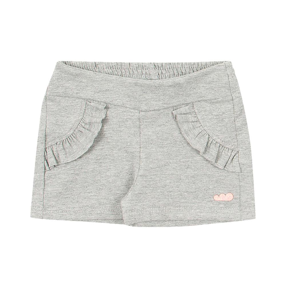 Shorts Babados Mescla