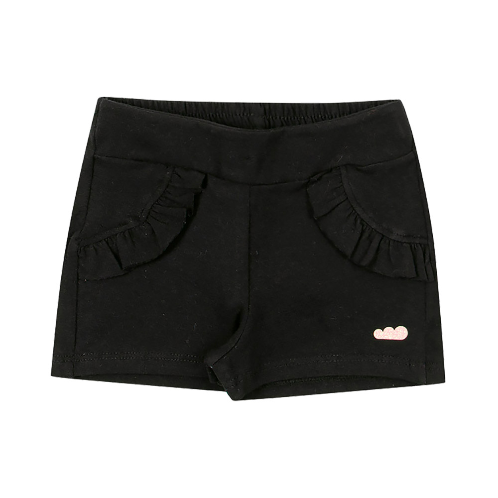 Shorts Babados Preto