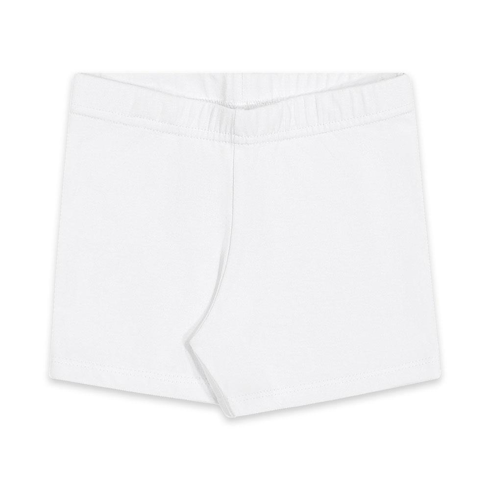 Shorts em Cotton Branco