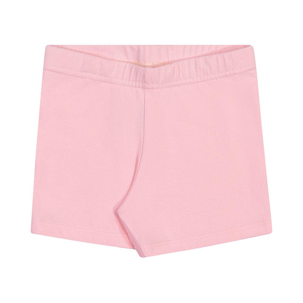Shorts em Cotton Rosa