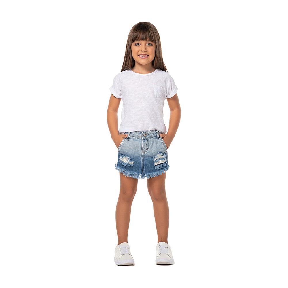 Shorts Saia Jeans Mania Kids