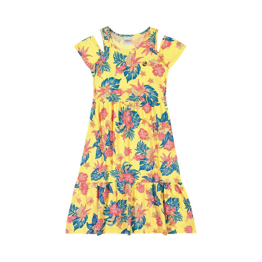 Vestido Anabela Amarelo