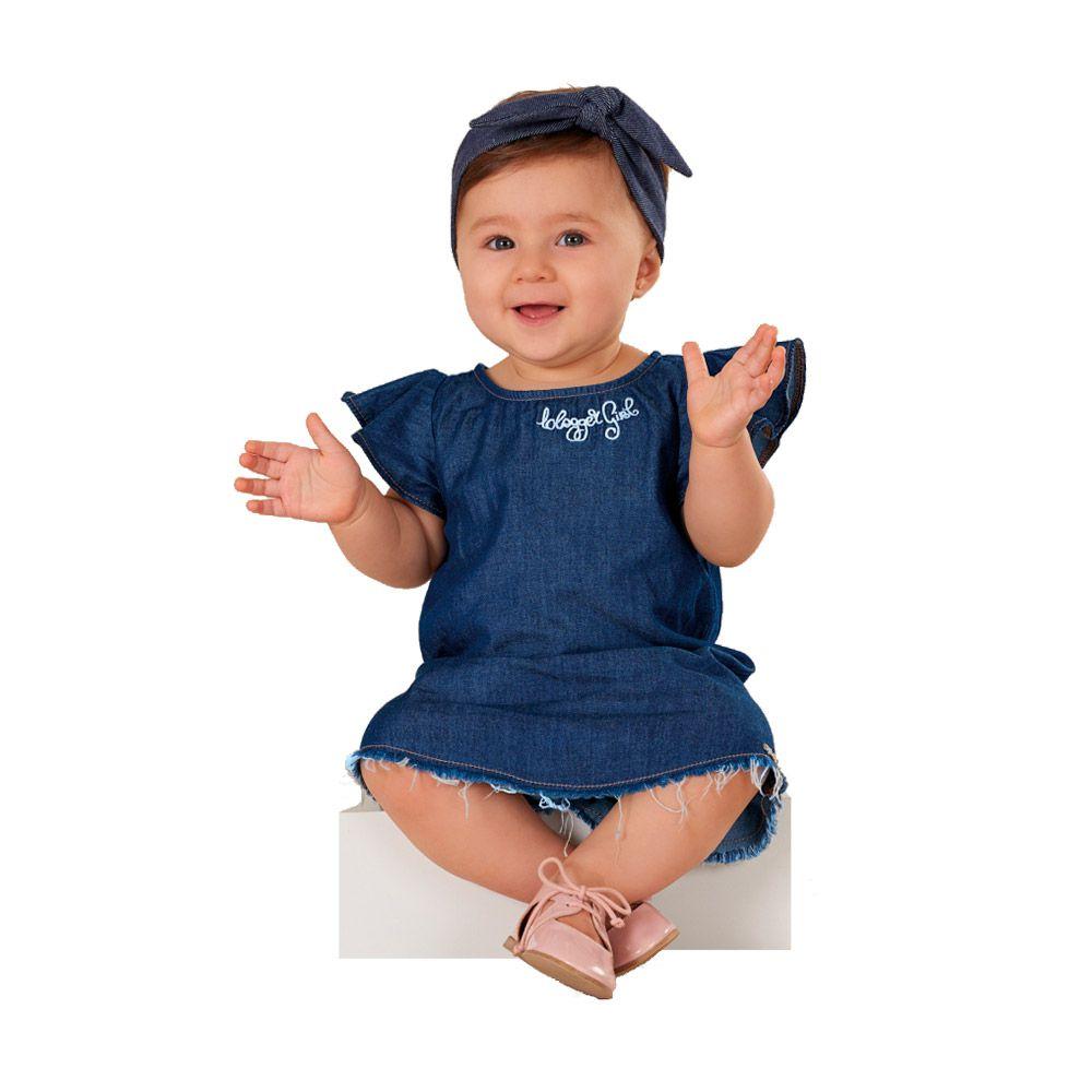 Vestido Baby Fashion Jeans