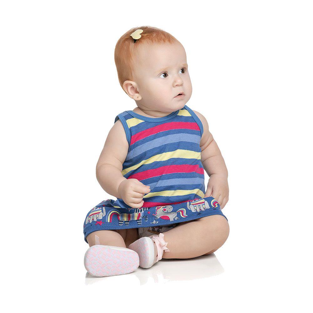 Vestido Baby Unicórnio