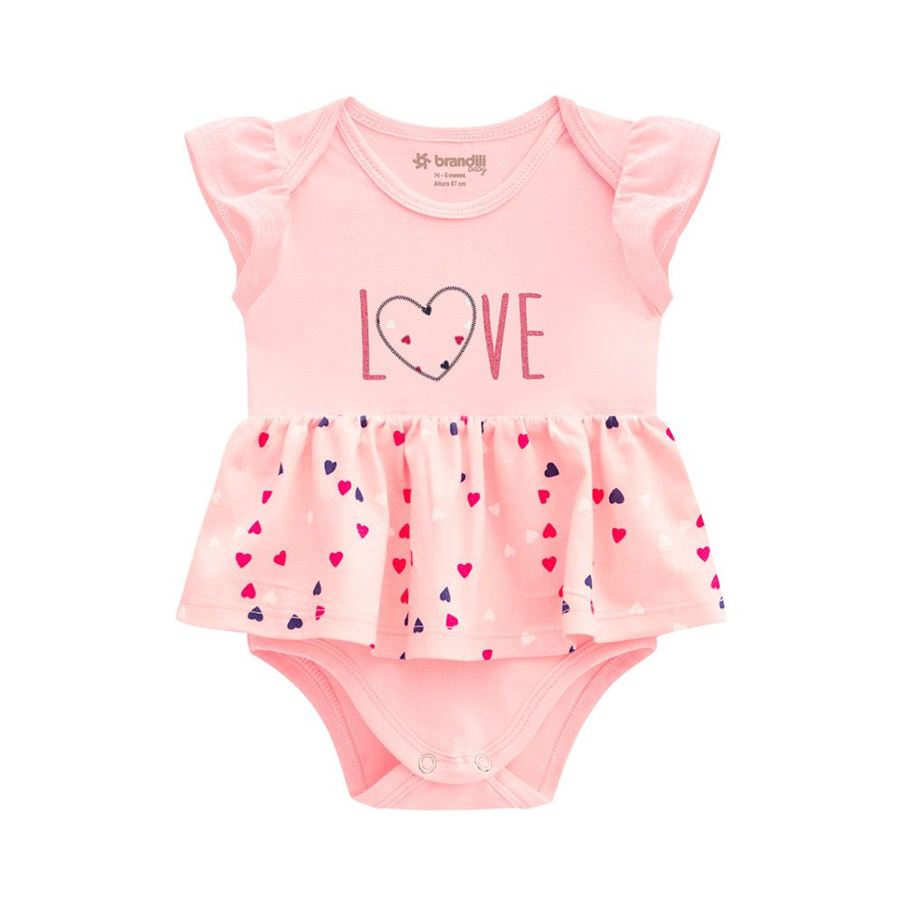Vestido Body Love Rosa